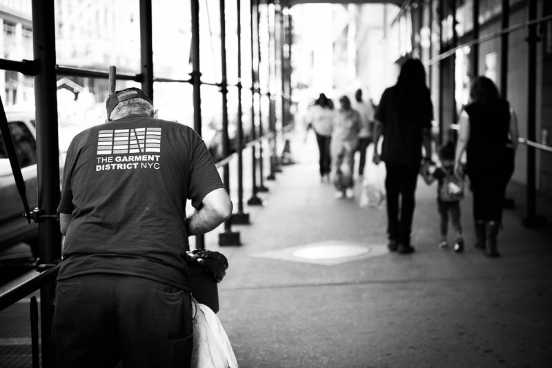 Fashion Week NY Garment District